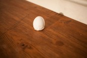 "Thumbnail image of ""Colombo braking the egg"""